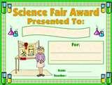 Images of Unique Science Fair Projects