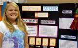 Photos of Second Grade Science Fair Projects