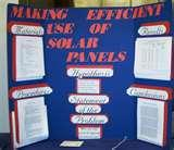 Photos of Energy Science Fair Projects