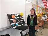 Photos of Science Projects Solar System