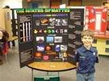 Pictures of Creative Science Fair Projects