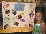 Photos of High School Science Fair Project