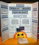 6th Grade Science Fair Project Photos