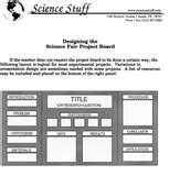 Images of Science Project Display