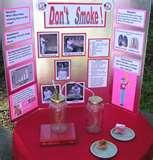 Pictures of Science Project Display